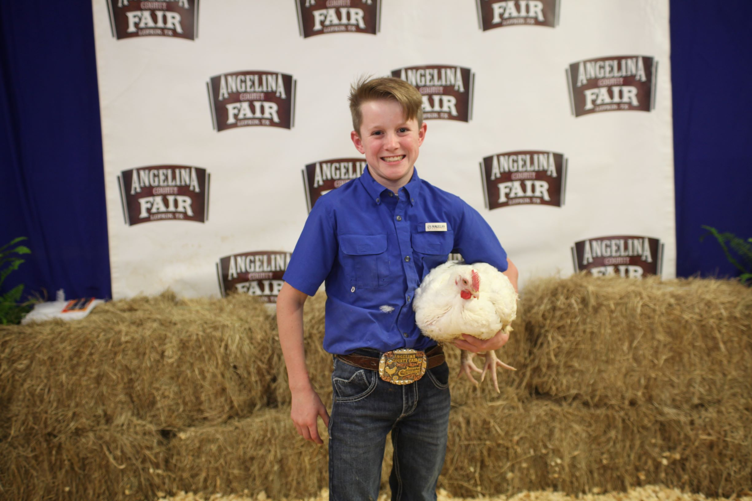 Leland Cash Ramsey, Blue Ribbon 4-H