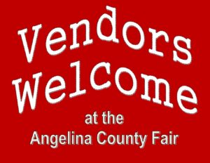 Vendor Welcome sign for website