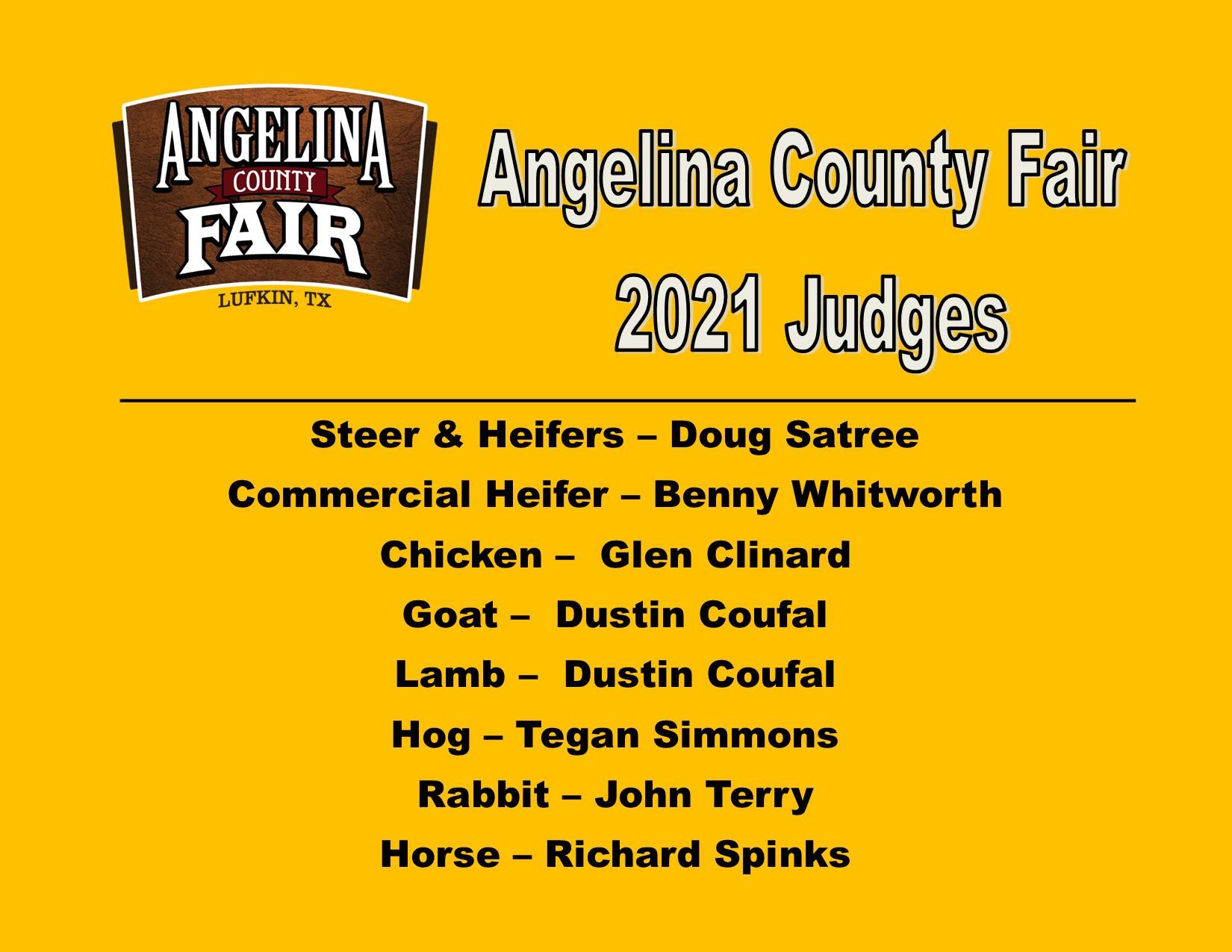 Judge list post 2021